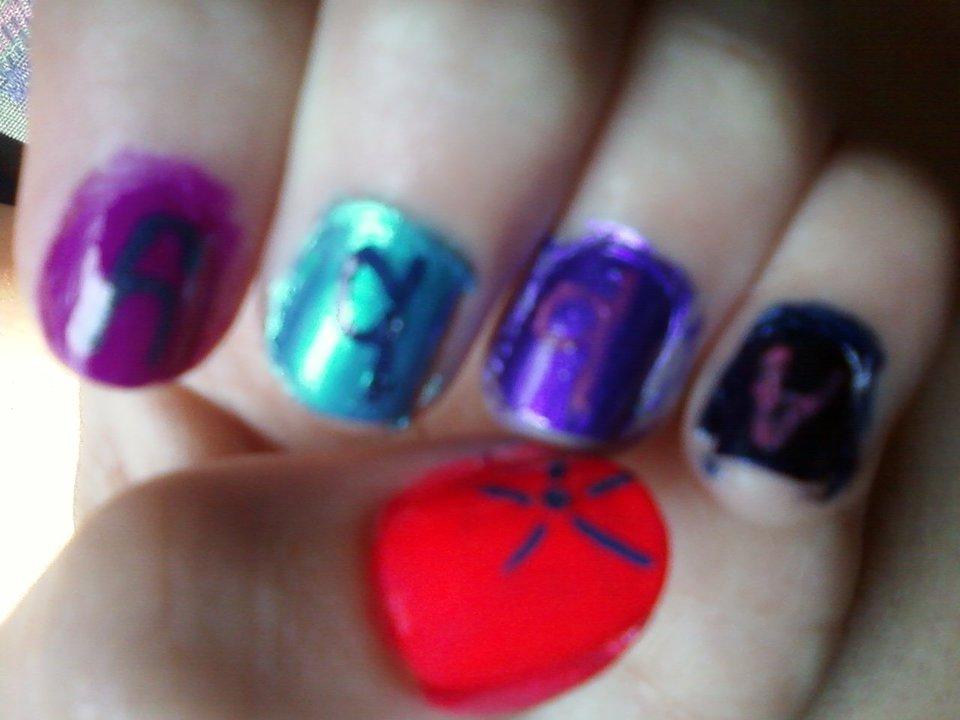 Abbys Nail Designs Name Nails