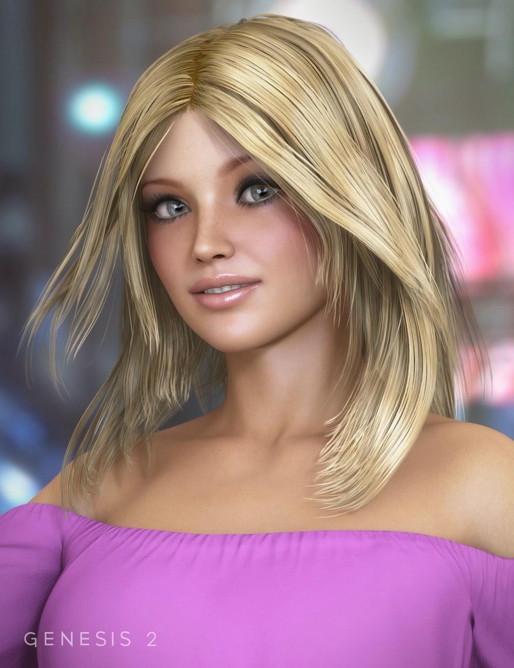 Coquin cheveux pour Genesis 2 Femme