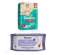 Buy Diapers Flat 25% OFF & Rs.250 Cashback on Rs 1000 Via  Amazon.in