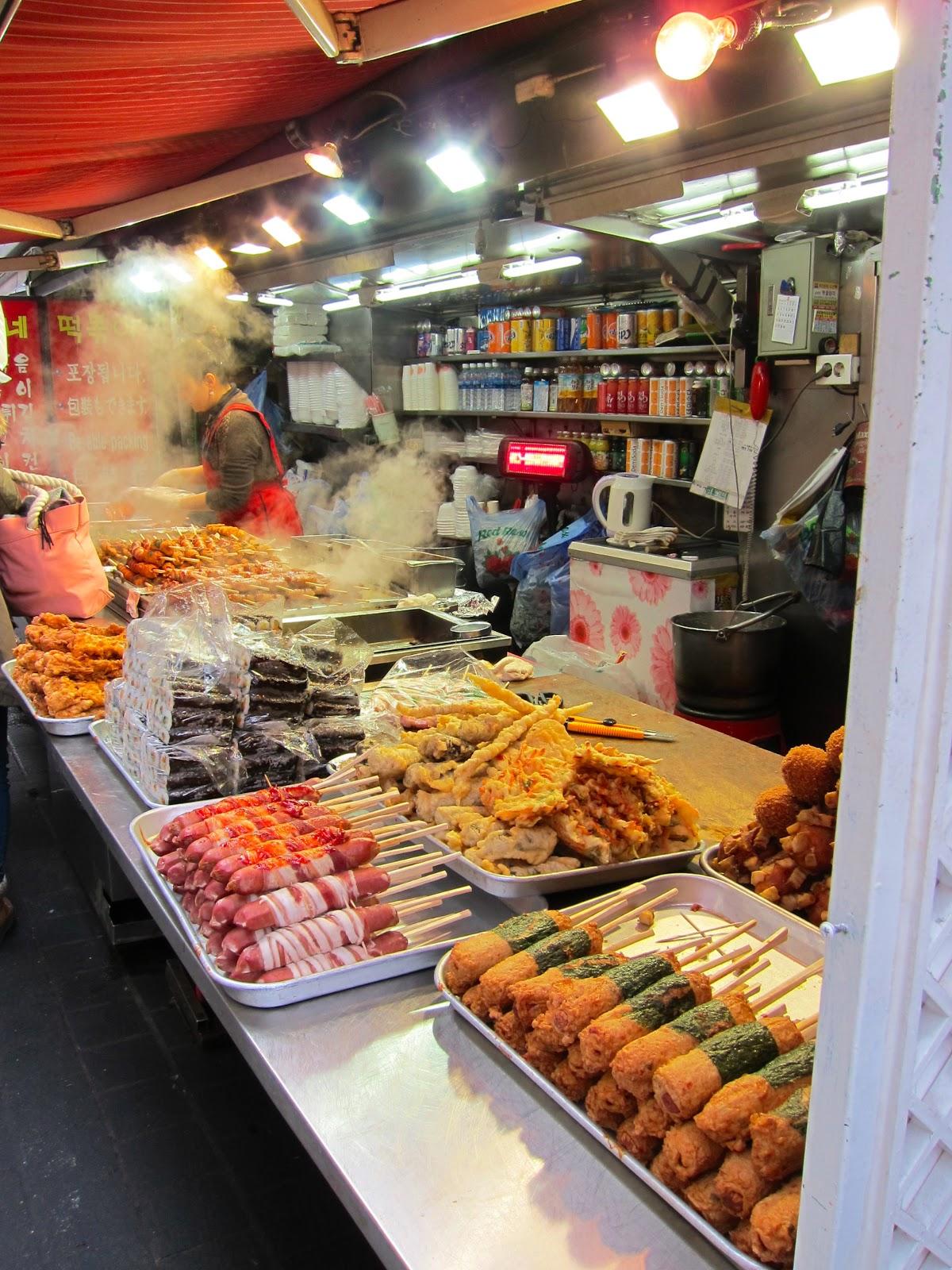 korean street food = love  city lights