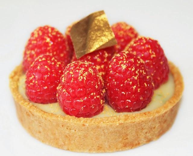 Recettes Desserts-Tarte aux framboises