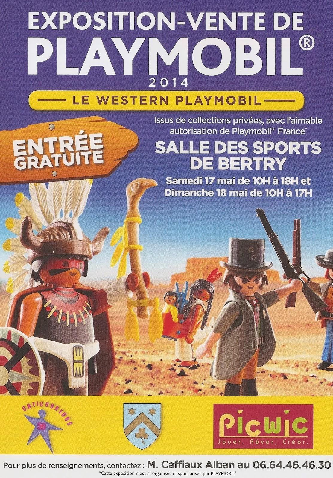 Expo-Vente Bertry, 16-18 Mai 2014