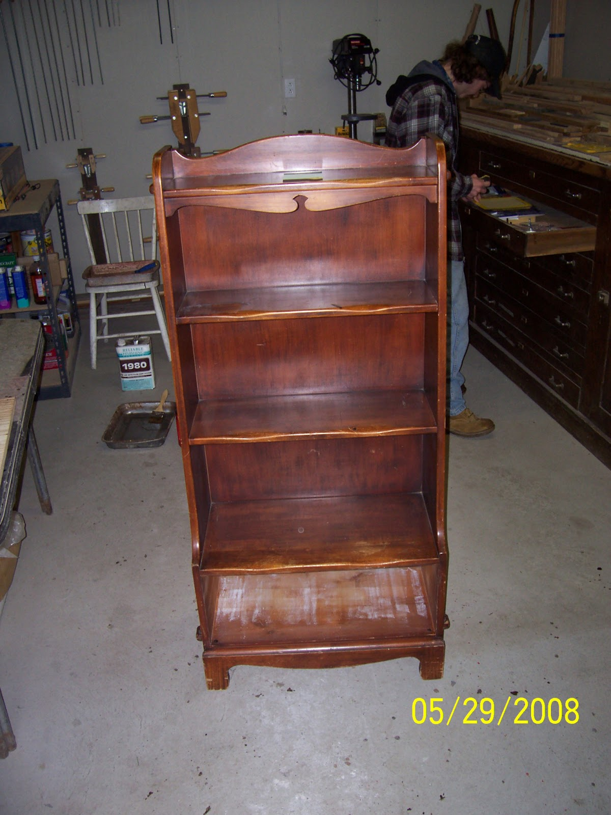 frontier furniture repair and restoration maple early american style