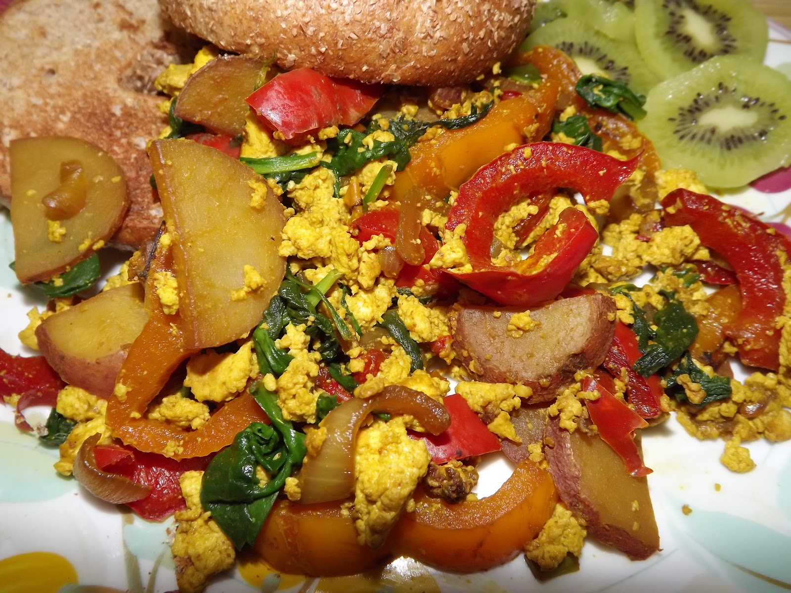 Yes its vegan fat free salt free tofu scramble this month i am eating from the engine 2 diet by rip esselstyn while the book has some wonderful recipes it is also a great guide for adapting your own forumfinder Image collections