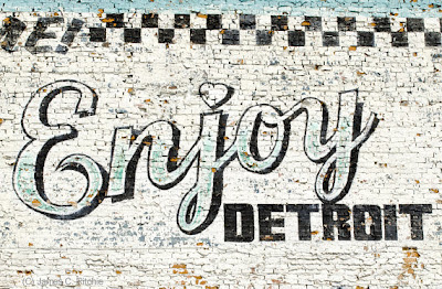 Photographic art by james c ritchie september 2012 for Enjoy detroit mural