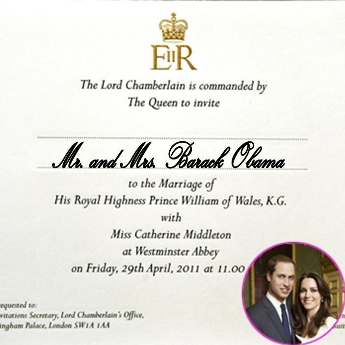 Beautiful Prince William Wedding Invitation Card Ideas - Invitation ...