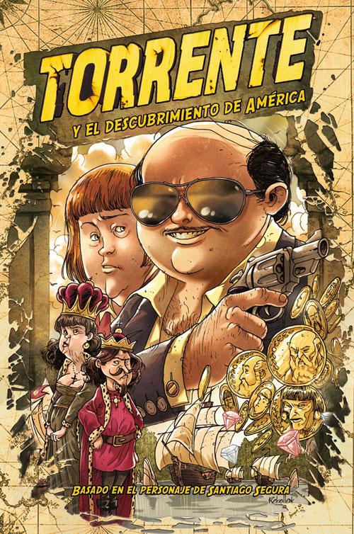 Torrente en cómic - El descubrimiento de América