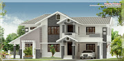 Sloping roof house. House in Details Ground floor : 1538.68 Sq. Ft.