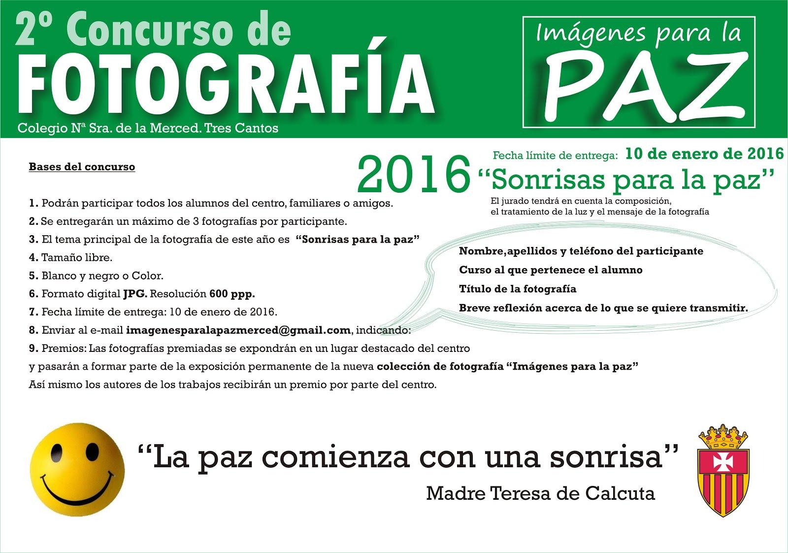 Concurso Fotografía PAZ 2016