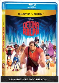 Capa Baixar Filme Detona Ralph   2013   Bluray 720P 3D Dual áudio   Torrent Baixaki Download