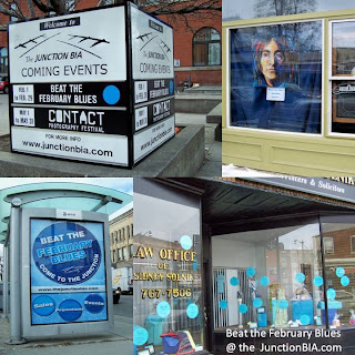 Beat the February Blues: the Junction merchants are going to go wild with ideas to help you beat the blues, collage