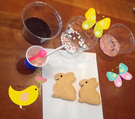 easter biscuits greeting cards designers Liz and Pip Ltd