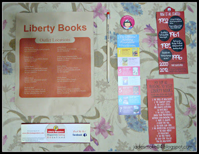 Liberty Books Goodies