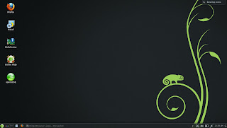 openSUSE 12.3 DARTMOUTH KDE RC1 DESKTOP ICONS ACTIVITY