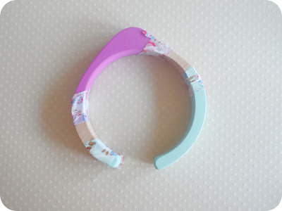 printed bangle how to | Randomly Happy