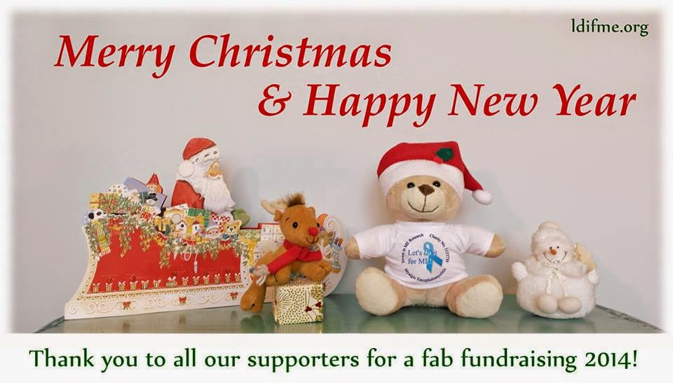 Lets do it for me christmas greetings from me to you looking forward to more fun fundraising with you all in 2015 m4hsunfo