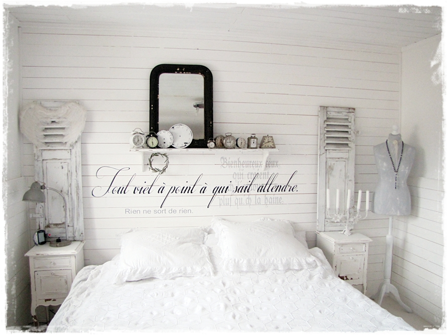 Einrichtungsideen Schlafzimmer Shabby Chic | harzite.com