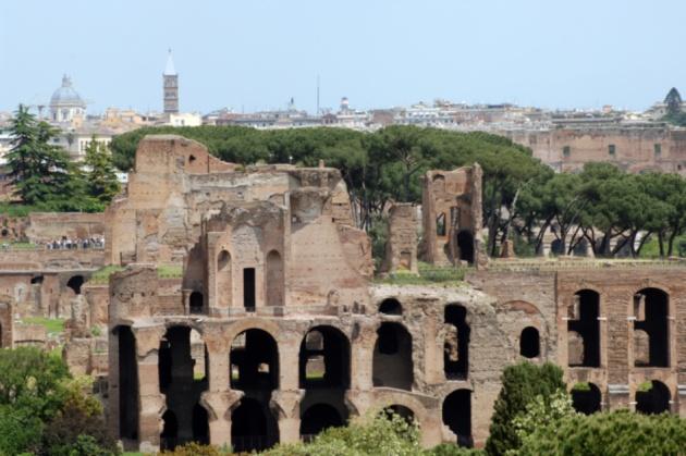 Il Palatino: mito, storia e natura