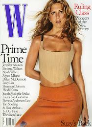 W magazine - Jennifer Aniston: American Beauty