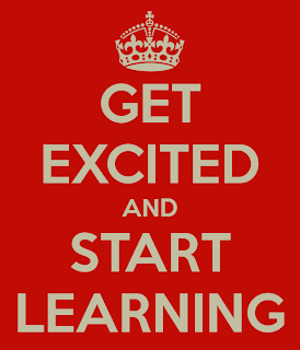 Get excited about learning