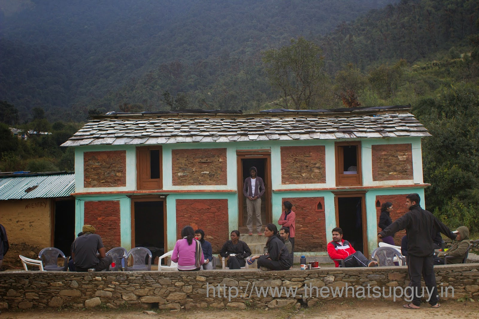 Didina-Homestay-Building-Roopkund-Trek-With-India-Hikes-Day-1
