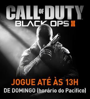 Call of Duty: Black Ops 2 de graça