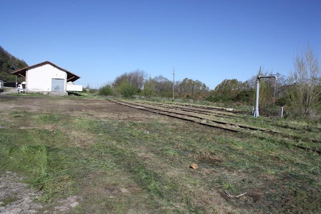 imagen de las vias del tren remitidas por el ayuntamiento