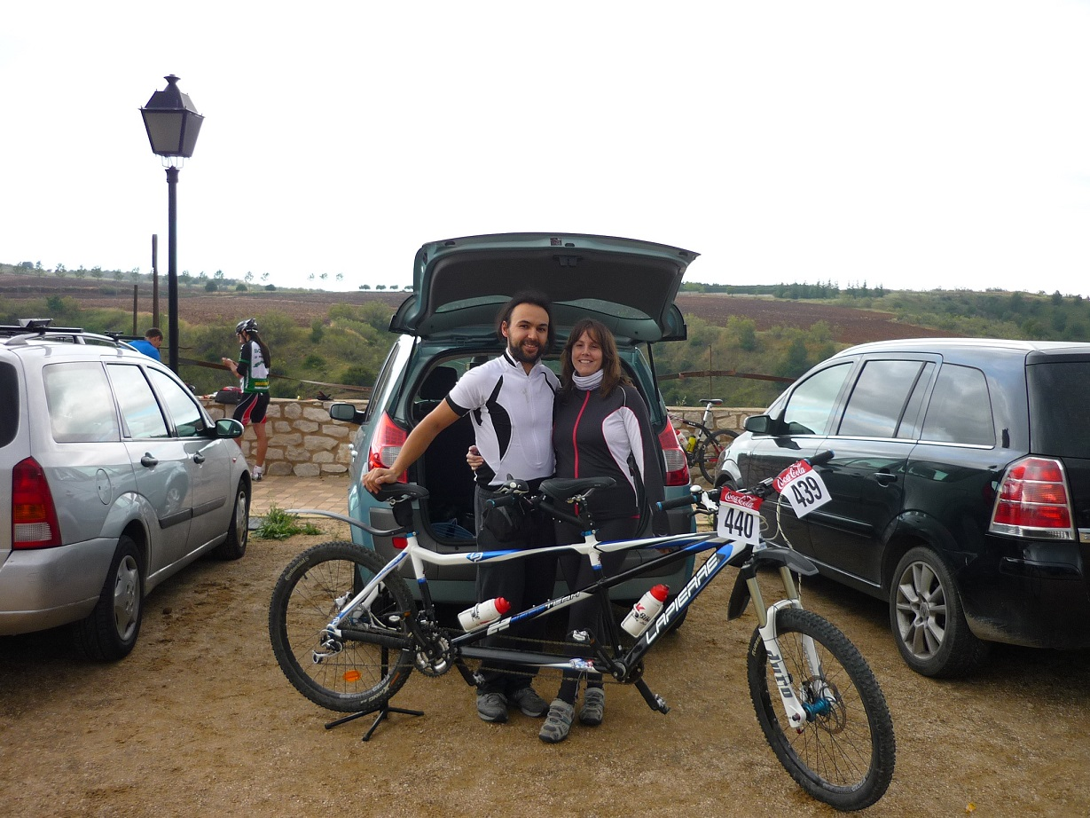 Blog Go Tandem - I Marcha MTB Charcuela Bike - En el parking