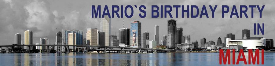 Mario`s Birthday !