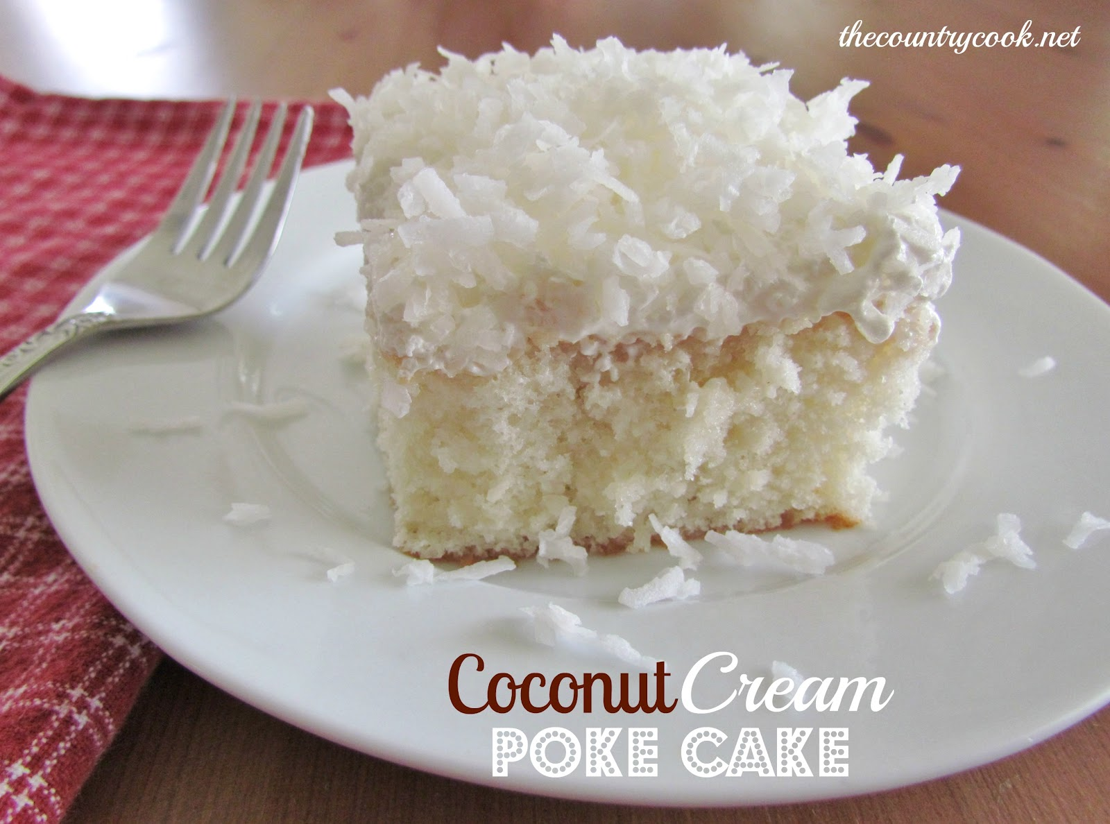 CAKE-RECIPE] Coconut Cream Poke Cake