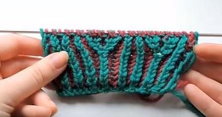 Новые техники в вязании спицами