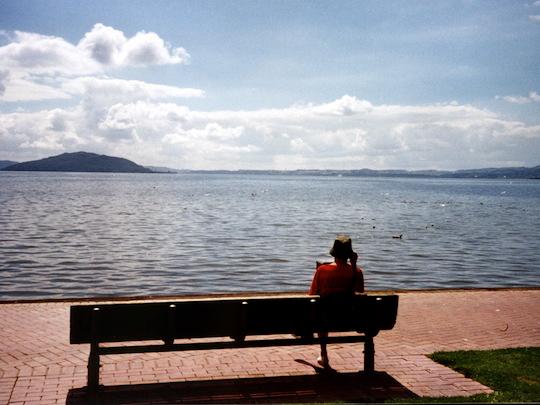 Rotorua Lake NZ