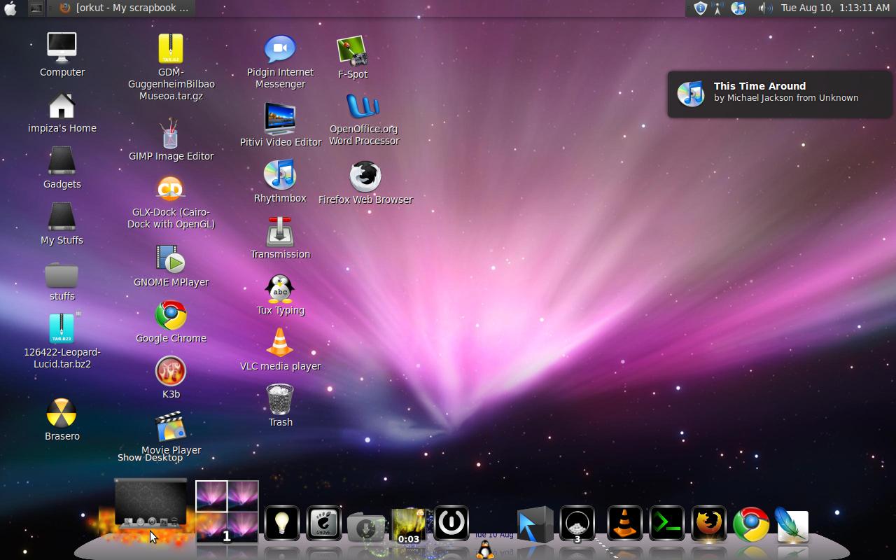 how to change desktops mac