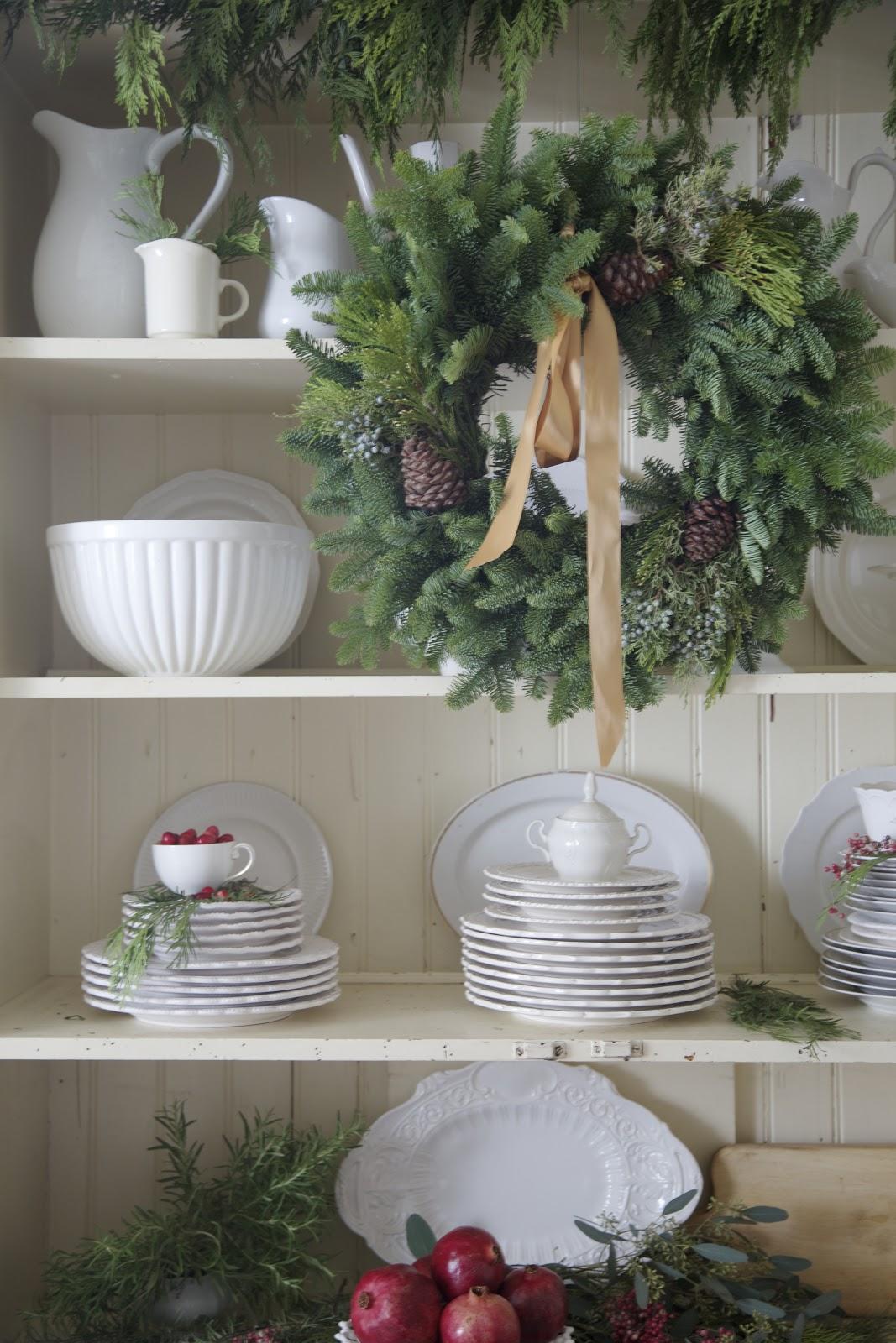 fresh christmas garland canada