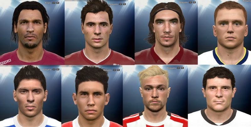 PES 2015 International FacePack by Andrews