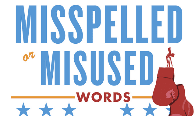 Image: Battle of the Commonly Misspelled or Misused Words
