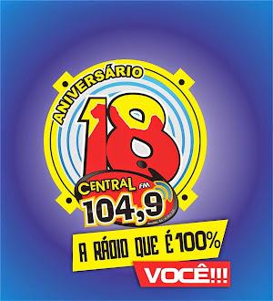 ACOMPANHE A RÁDIO CENTRAL  FM AO VIVO E AS MELHORES MÚSICAS