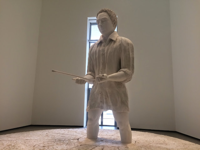 Sculpture by Thomas Schütte at the Fondation Louis Vuitton, Paris