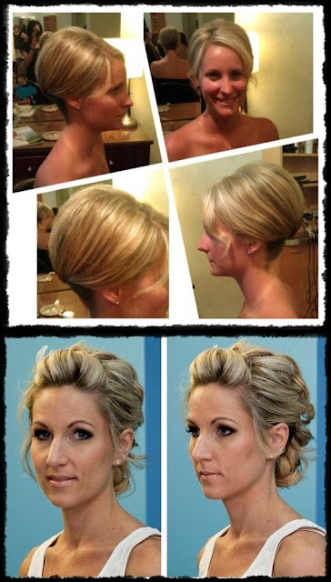 Cute Easy Updos for Short hair
