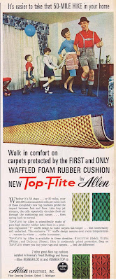 Marching on the carpet in your home while wearing lederhosen.
