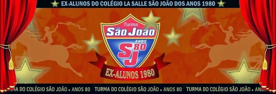 Turma do Colégio São João - Anos 80