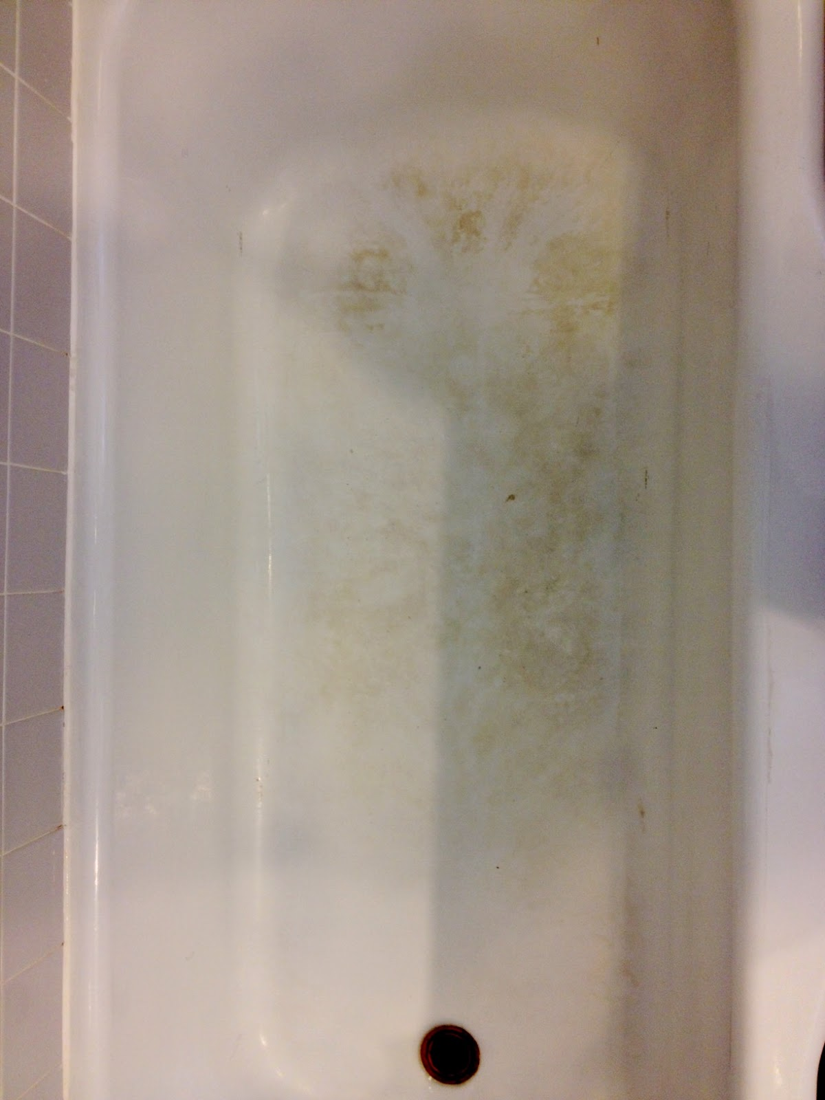 Over on Dover: Refinishing the Bathtub