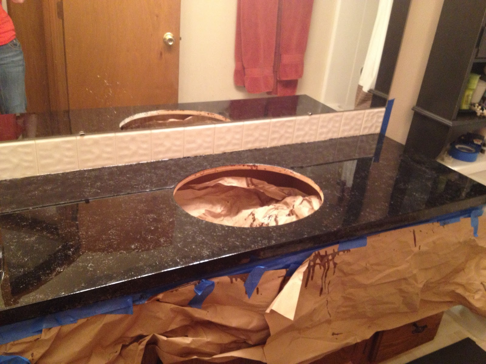 Handy in KS: Countertop Upgrade On the Cheap with Envirotex Lite