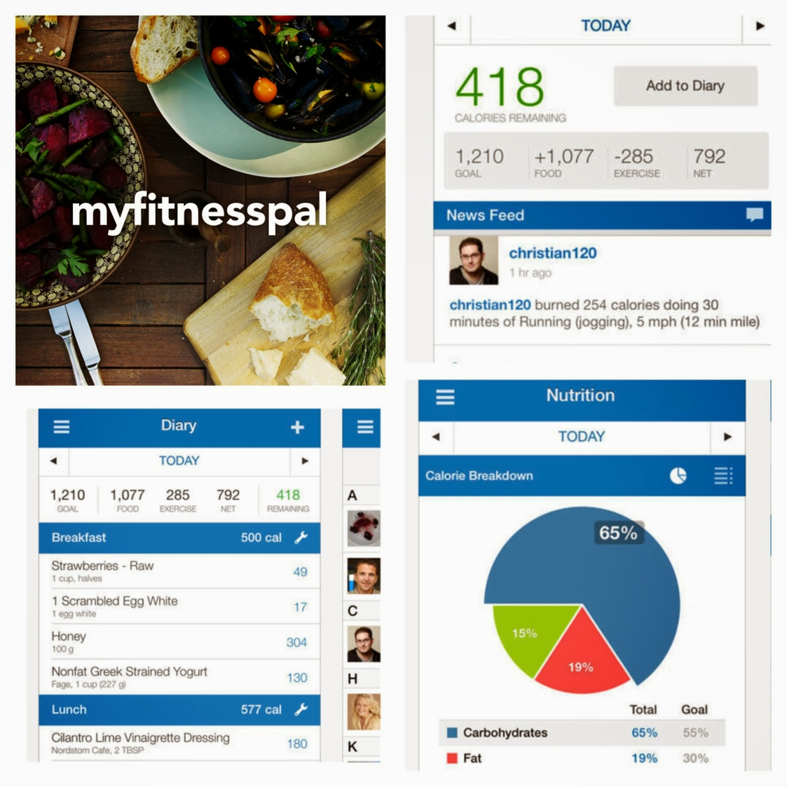 Weight loss and health apps iPhone