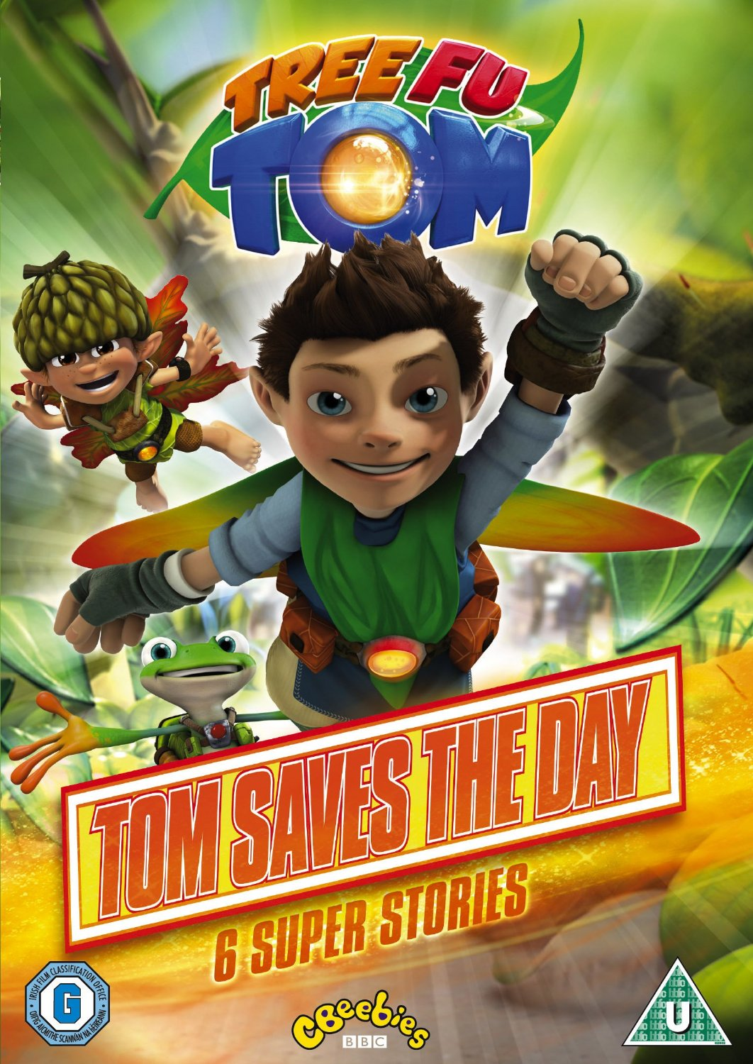 Tree Fu Tom: Tom Saves the Day - Review and Giveaway DVD