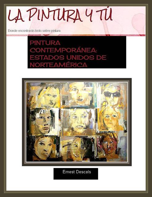 PINTURA-CONTEMPORANEA-ESTADOS UNIDOS-RETRATOS-ETNICOS-PINTOR-ERNEST DESCALS