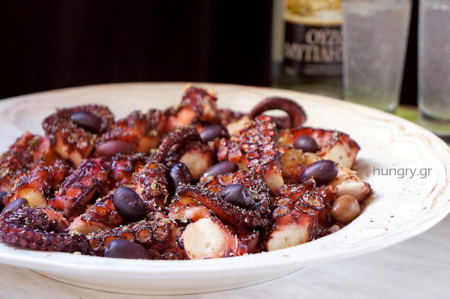 Octopus Baked in Parchment Paper