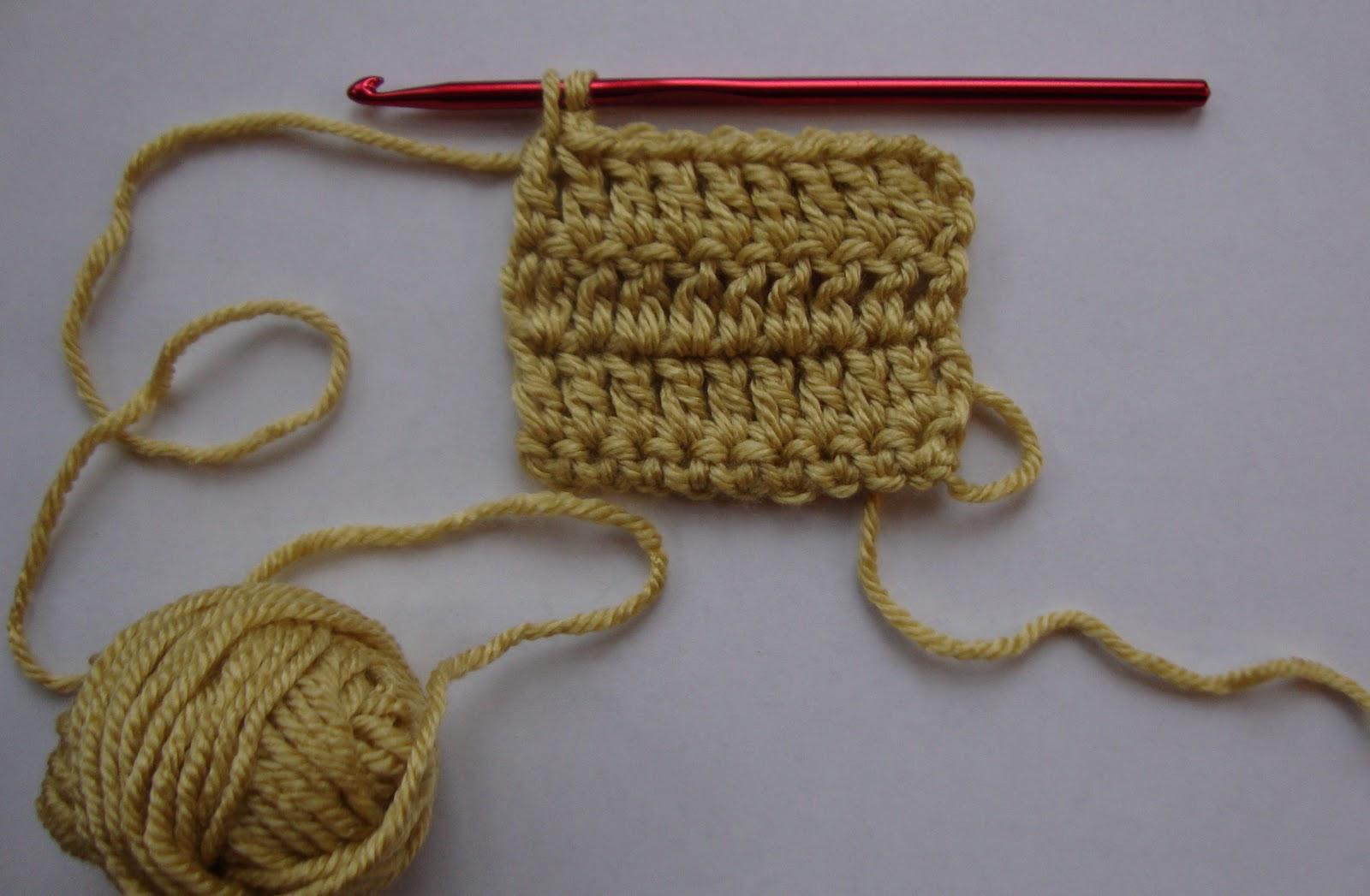 how to make a reverse single crochet