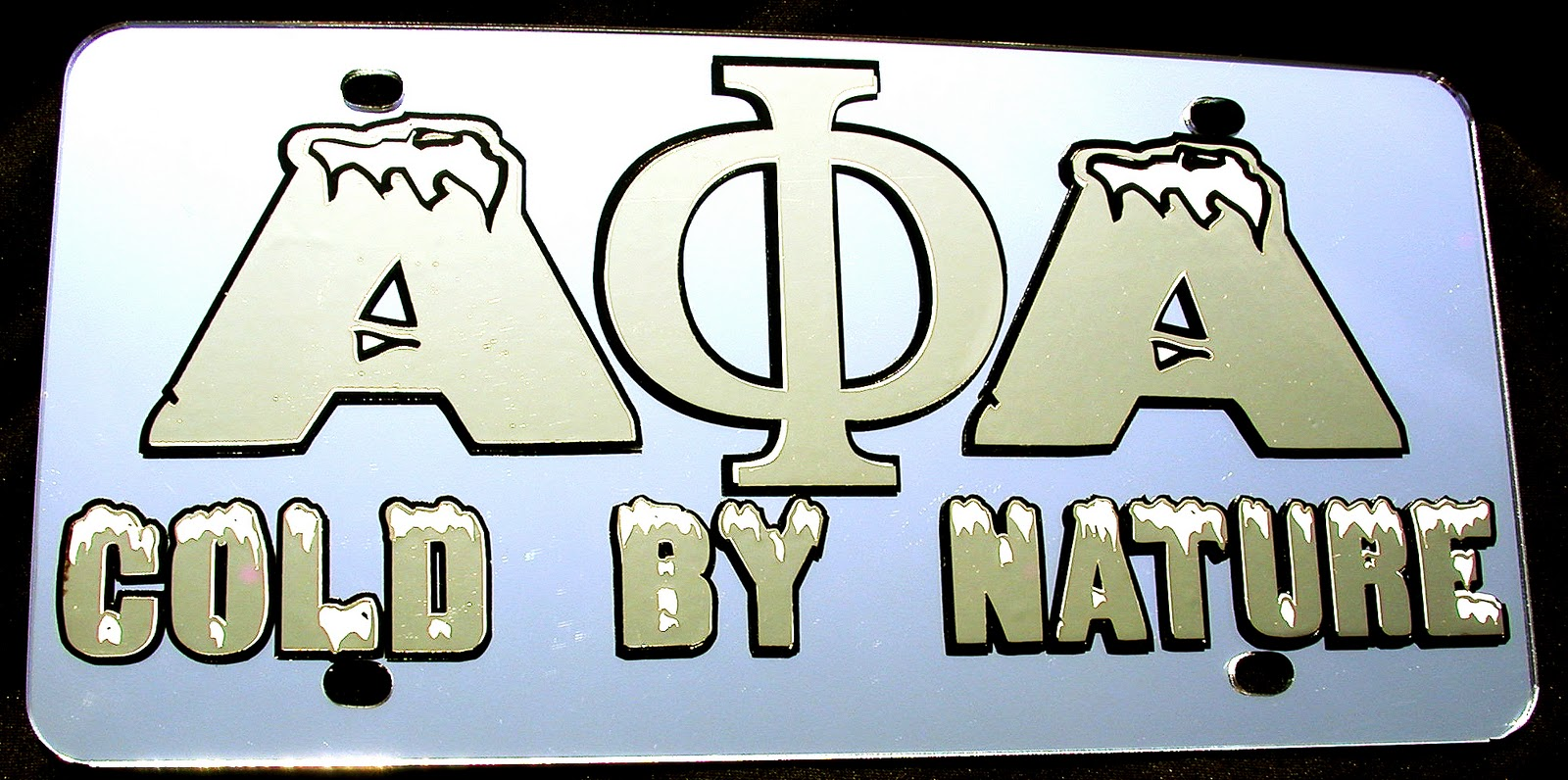 GREEK TAGS by PHAT TAGS: ALPHA PHI ALPHA