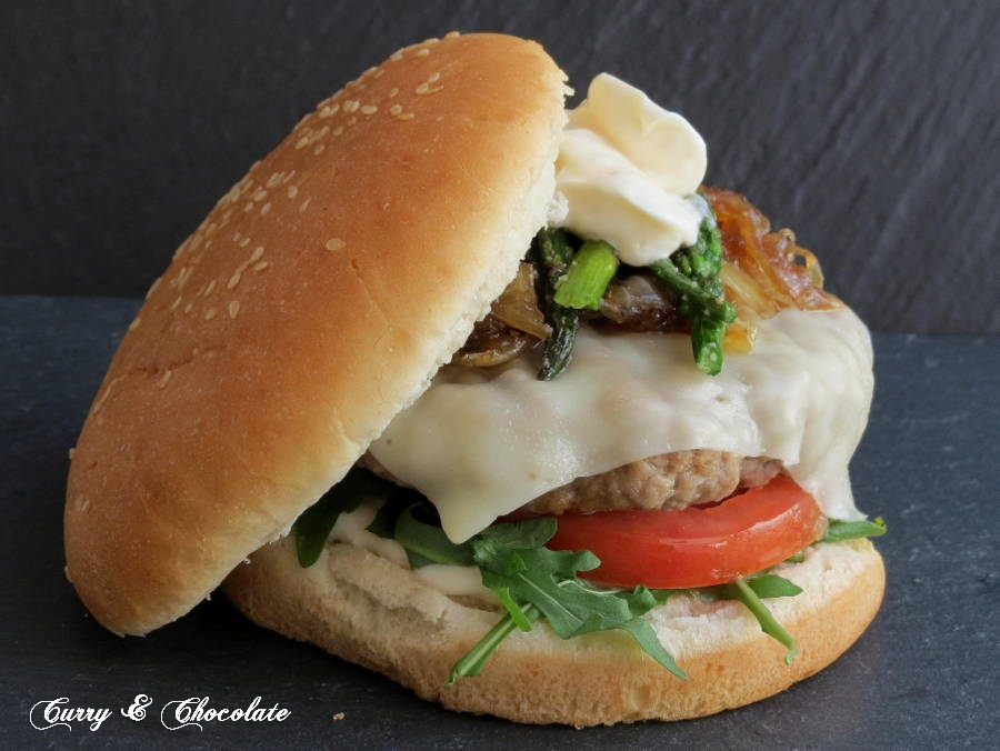 Hamburguesa de ternera a lo Ramsay - Beef burger